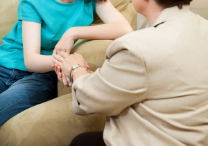 Counseling from a caring therapist